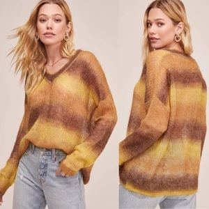 Anthro ASTR the Label Ombré Sweater